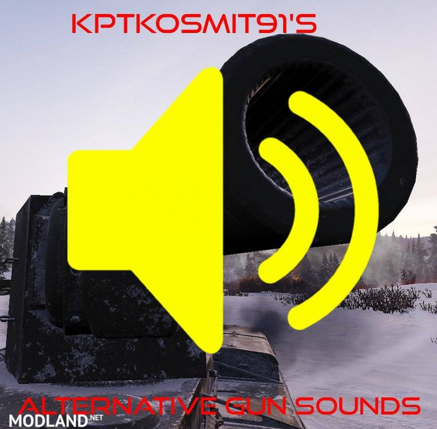 KptKosmiT91's Alternative Gun Sounds 1.0.1 [1.4.0.1]